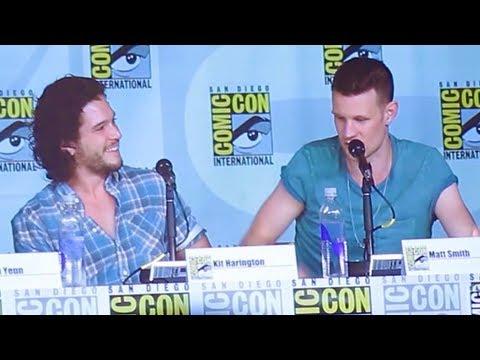 Kit Harington and Matt Smith Comic Con 2013 - Full Panel