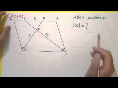 Paralelkenar 1 Açı Ve Uzunluk Şenol Hoca Matematik