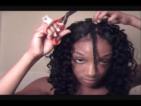 Deep Wave Hair Tutorial Pt 2 Of 3 Youtube