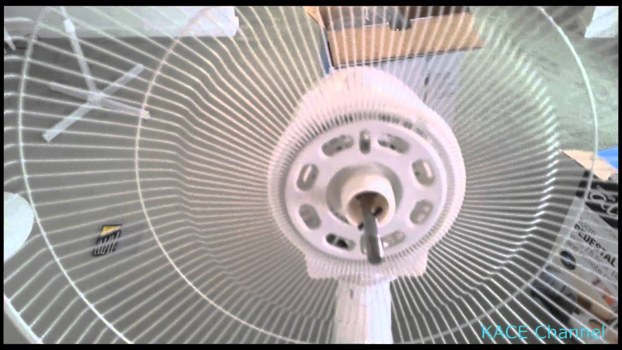 How To Assemble Omega Altise Pedestal Cooling Fan Youtube