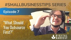 What Professional Services are the Best to Outsource for Small Businesses? Episode 7