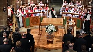 Baroness Rachael Heyhoe Flint's Funeral Service