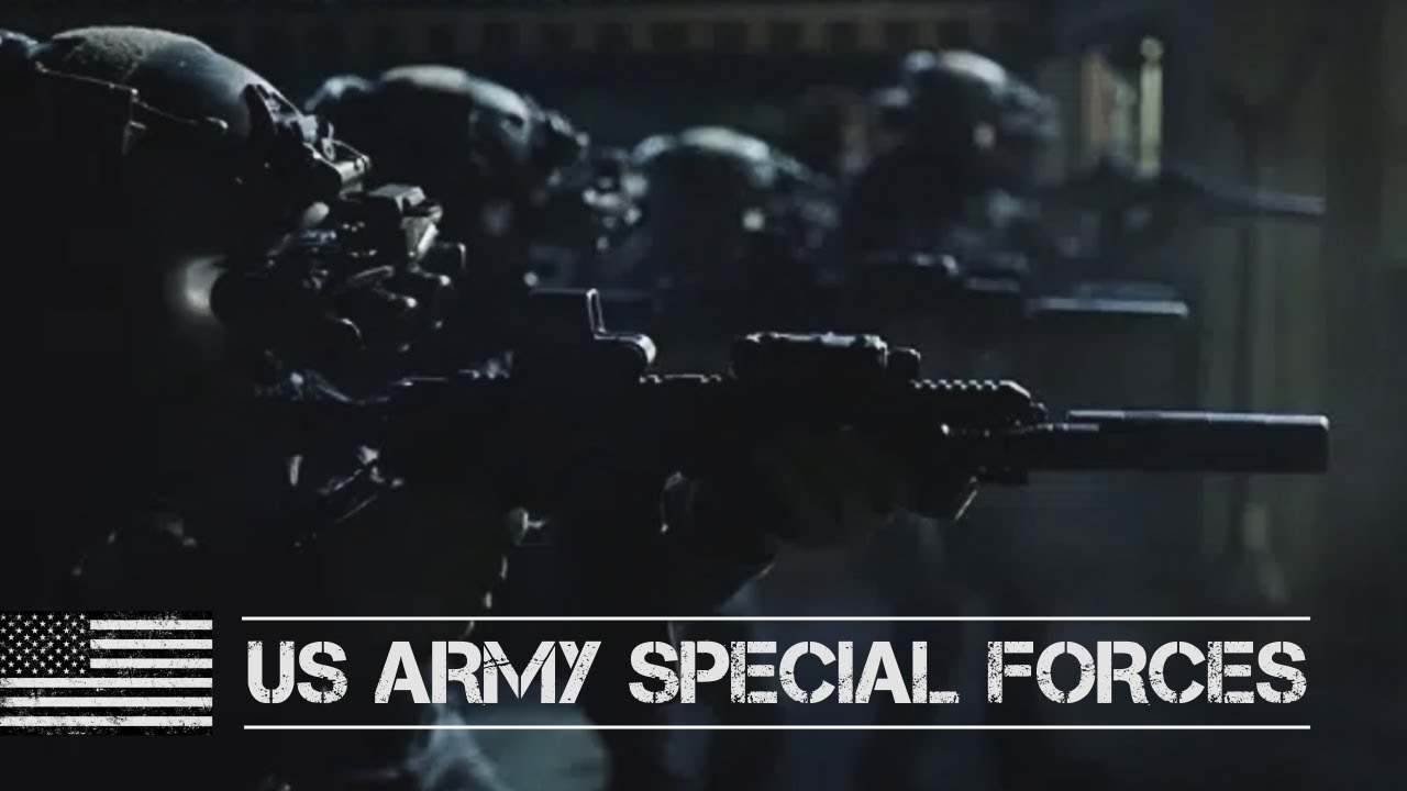 US ARMY Special Forces    BLACK OPS