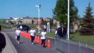 Finishing 10k Marathon