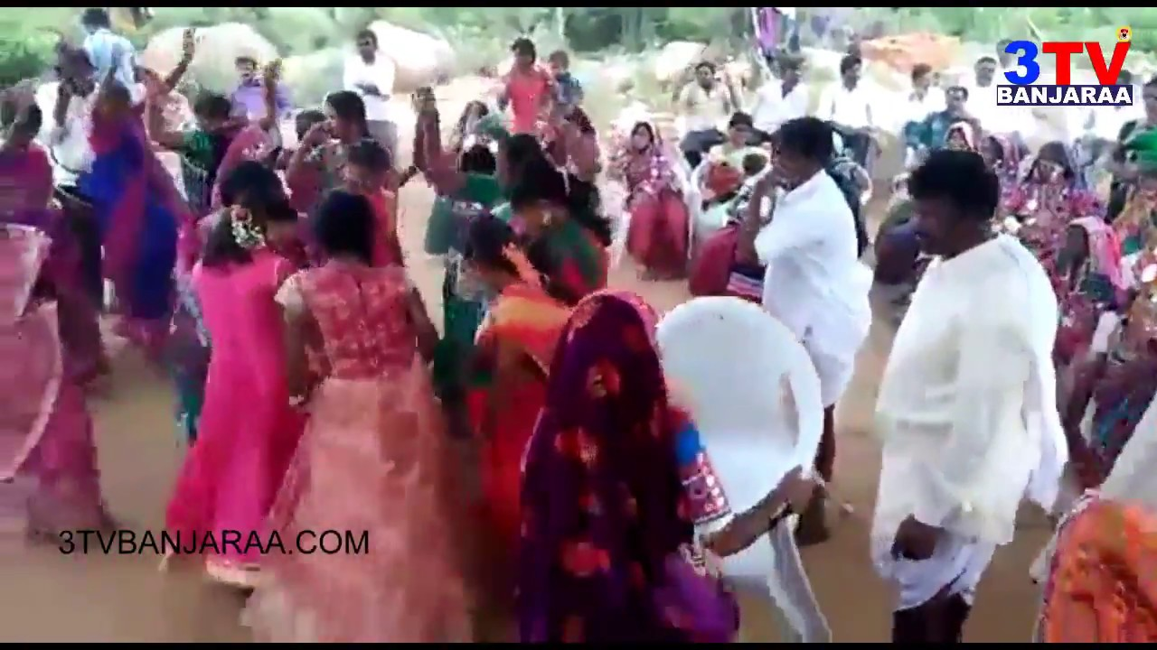 Banjara Womens Girls Group Dance In Marriage Party On Chinuku Song