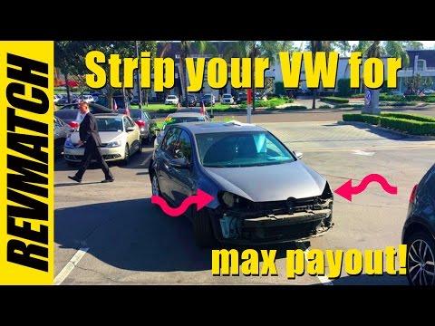 VW TDI buyback - Strip it for cash!