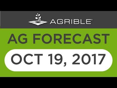 Morning Farm Report Ag Forecast - Oct 19, 2017