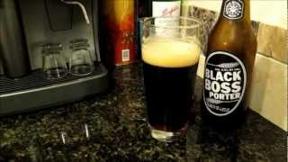 High octane Black Boss Porter beer from Poland - 9.4% of brewed liquid since 1848