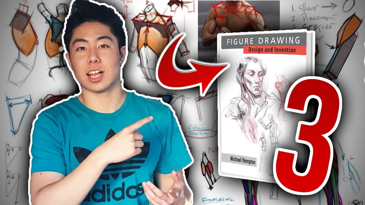 3 BEST Figure Drawing Books for Anatomy - YouTube