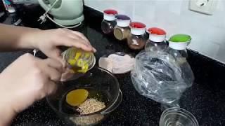 Ballı hardallı fırında tavuk tarifi