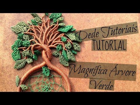 Dede Tutoriais | Como fazer a Magnífica Árvore Verde #30