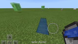 Minecraft Infinite Water pool trick (Lava does not work)
