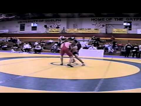 2002 Senior Greco National Championships: 74 kg Andy Mitton vs. Paul Harrison
