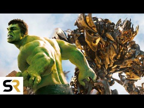The Avengers VS Transformers New Fan...