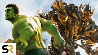 The Avengers VS Transformers New Fan Trailer! Amazing Epic S...