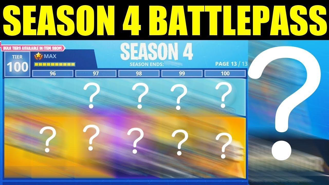 Fortnite Season 4 start date, and everything else you need to know