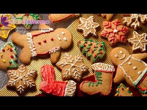 Gingerbread Cookies Biscotti Di Pan Di Zenzero Recipe