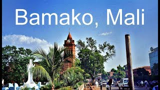 Bamako, Mali, city tour and tourist attractions