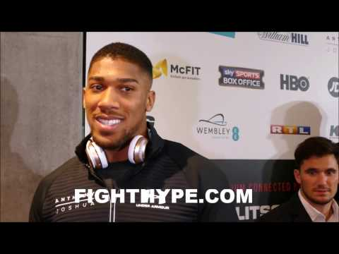 ANTHONY JOSHUA EXPLAINS WHY HE'S THE REAL DEAL; WARNS KLITSCHKO HE'S NOT TO BE MESSED WITH