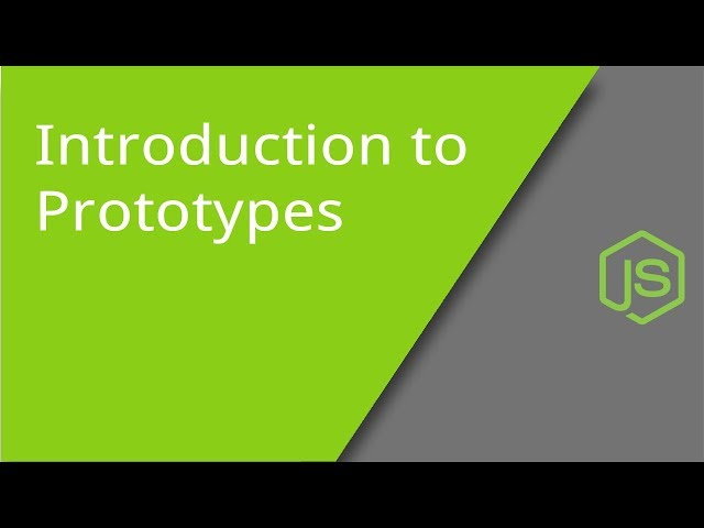 Introduction to Prototypes in JS