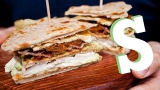 FLATBREAD CHICKEN CLUB SANDWICH RECIPE - SORTED