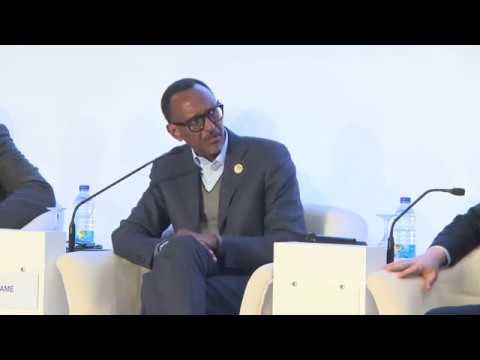 H E Paul Kagame attends 2nd Africa Business Forum | Sharm el Sheikh 2017