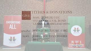 Jubilee UCC  Sunday Service June 28,  2020
