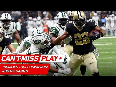 Mark Ingram WILL NOT BE STOPPED on TD Drive vs. NY! | Can