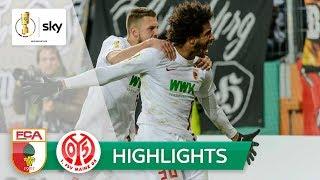 FC Augsburg - 1. FSV Mainz 05 3:2 n.V.   Highlights - DFB-Pokal 2018/19   2. Runde