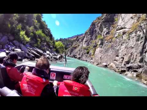 Exciting GoPro Filming of The Shotover Jet Boat