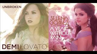 Give Your Heart A Year Without Rain (Mashup) - Demi Lovato & Selena Gomez