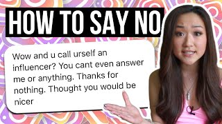 How to Say NO to People Who ask for Free Advice on Social Media (5 ACTIONABLE Steps!)