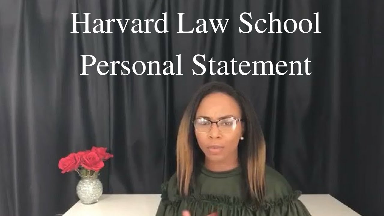 harvard law personal statement