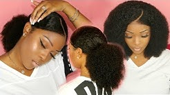 What Wig? | Finally A Perfect Curly Wig For Natural Hair | Most Natural Pre Plucked Lace Frontal Wig