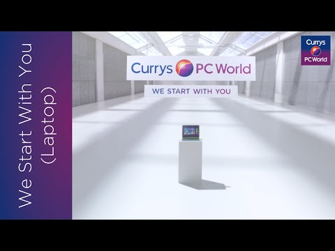 We Start With You: Laptop | Currys PC World TV Advert