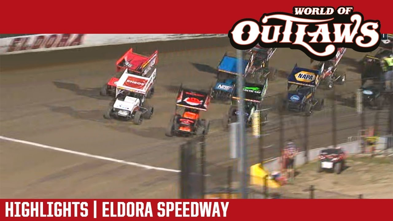 world-of-outlaws-craftsman-sprint-cars-eldora-speedway-july-12-2018-highlights