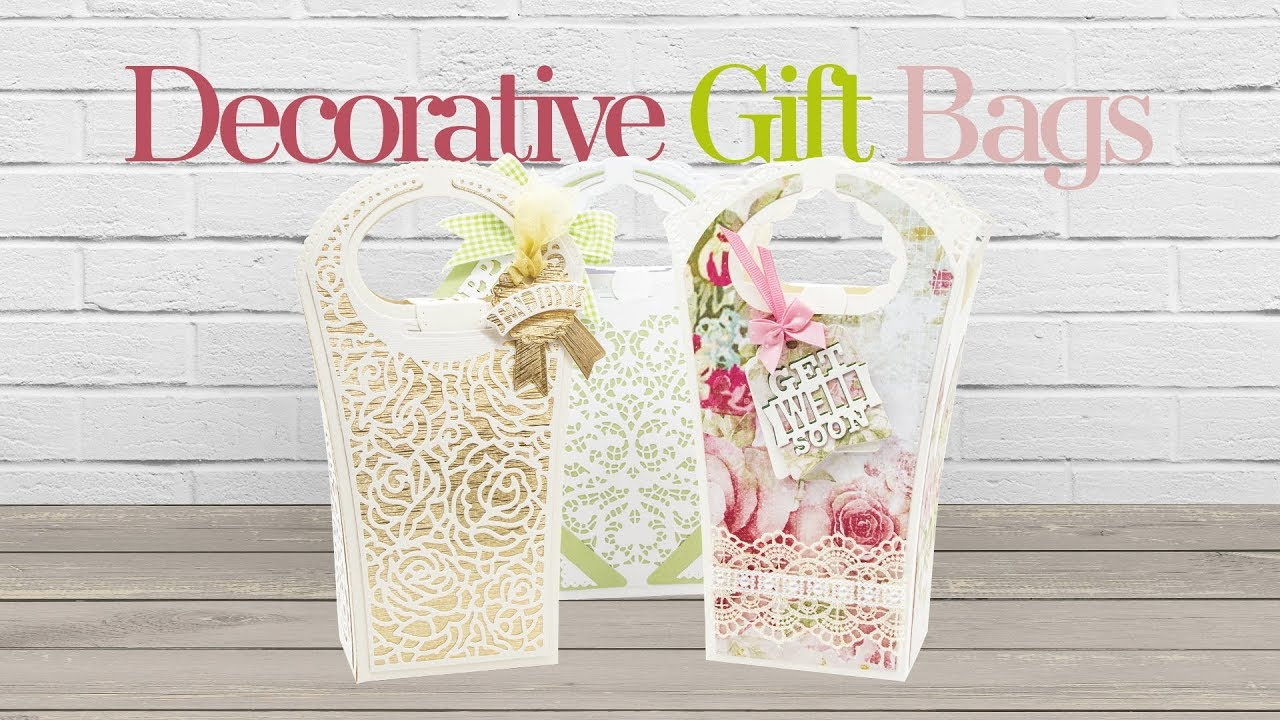 f6e1fbc4e2f43b Tonic Introduces - Decorative Gift Bag Die Sets. Tonic Studios