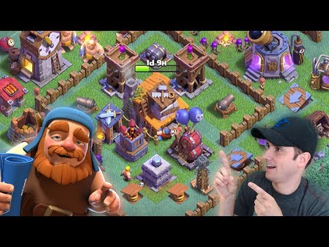 Clash of Clans - MAX BH4 - Best BUILDER HALL 4 Base
