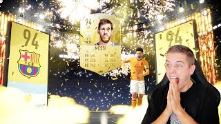 IK PACK MESSI NU AL IN FIFA 19!!! NEDERLANDS