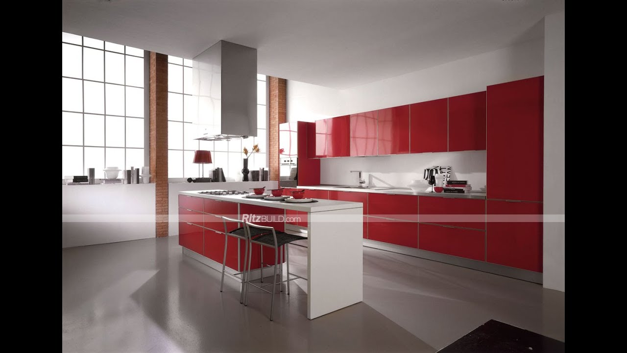 New kitchen cabinet design youtube for Latest kitchen designs