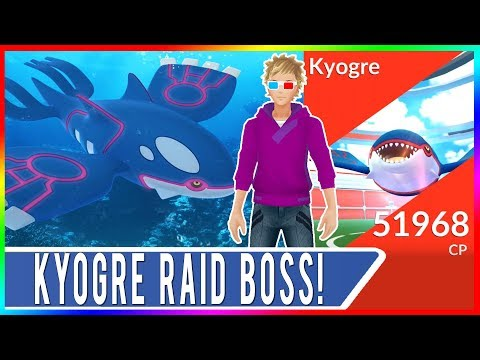 WEATHER BOOSTED KYOGRE RAIDS IN SAN FRANCISCO!