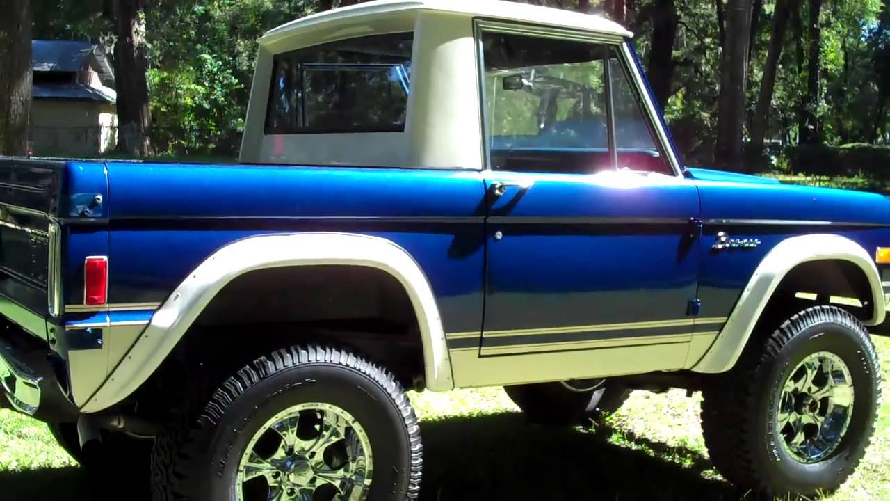Ford Bronco 1977 SOLD 24K - YouTube
