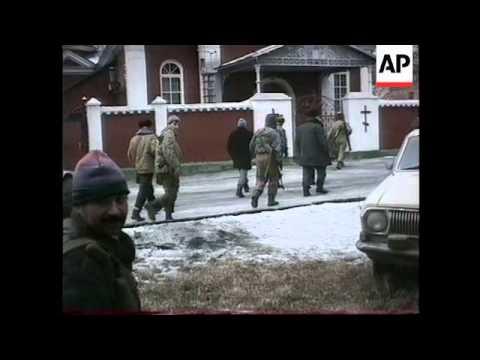 Chechnya - Heavy Fighting Rages In Grozny