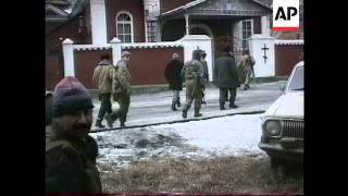 Chechnya - Heavy Fighting Rages In Grozny