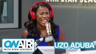 "Uzo Aduba On Playing OITNB ""Crazy Eyes"" and Meeting Taylor Swift 