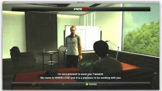 PES 2012 Master League Gameplay  Mac