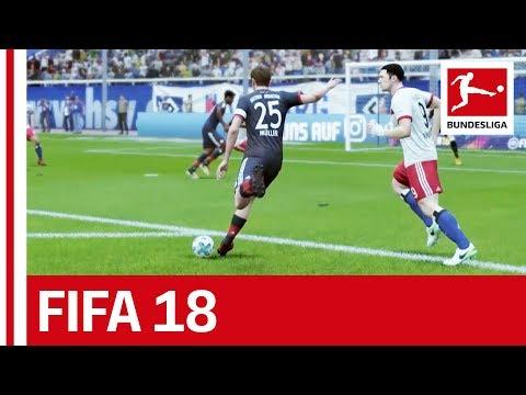 Hamburg vs. Bayern - FIFA 18 Prediction with EA Sports