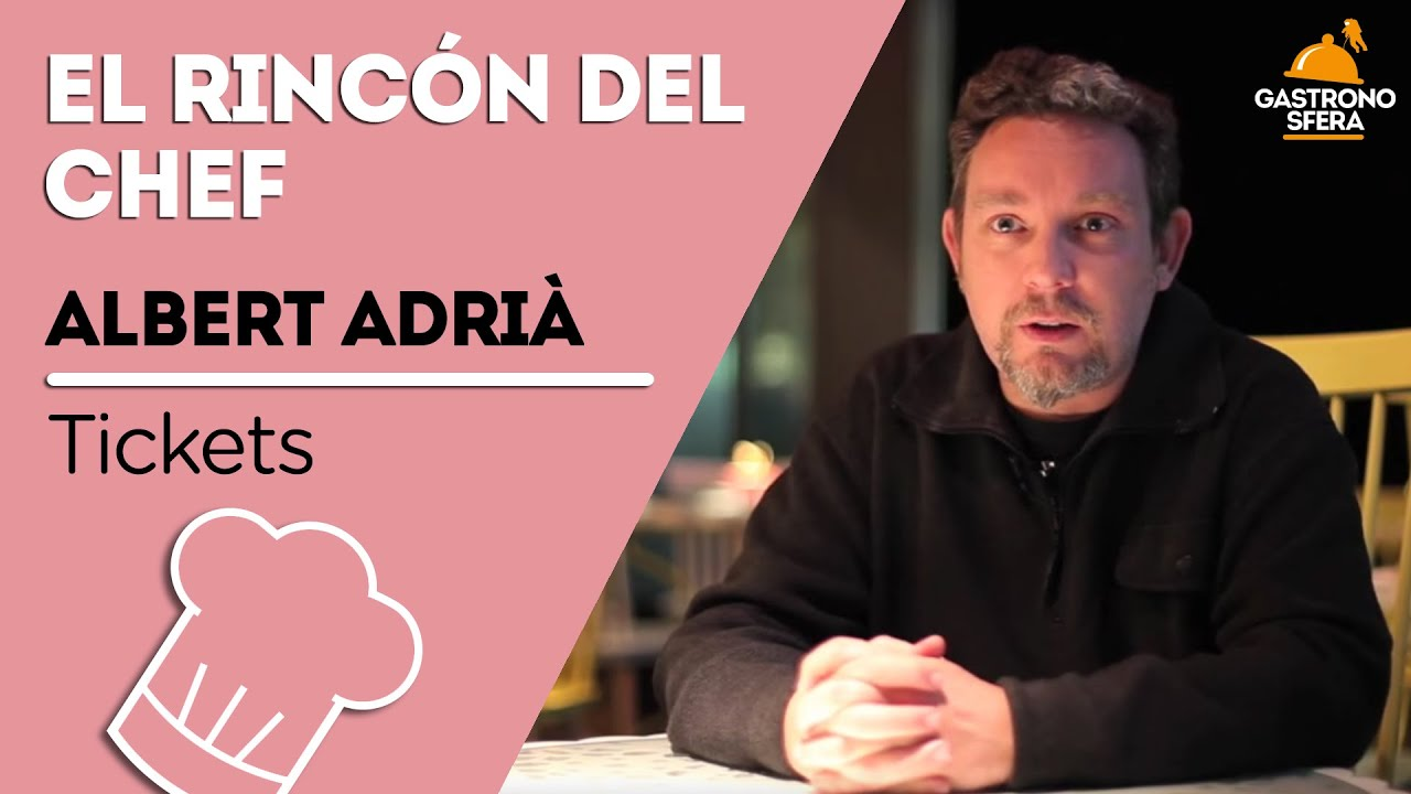 entrevista a albert adri tickets
