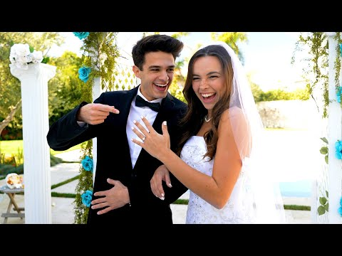 Behind The Scenes of The Wedding | Brent Rivera and Pierson Wodzynski #Shorts