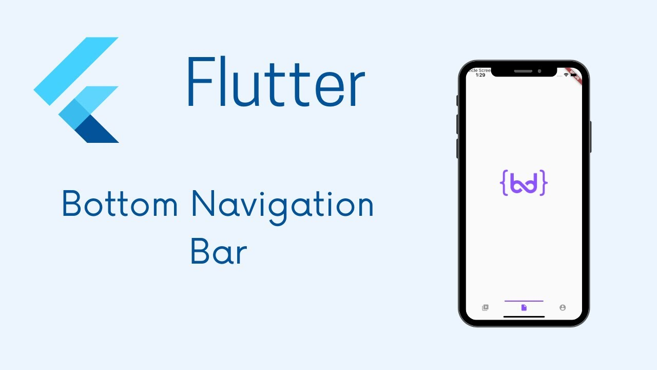 How to use a Bottom Navigation Bar in Flutter